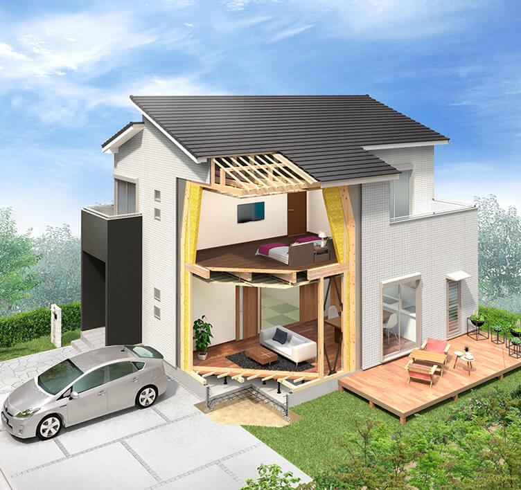 伊勢の木造住宅|高石市 堺の新築一戸建ては伊勢住宅