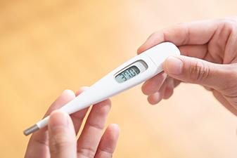 社員全員の毎朝の体温・体調チェック