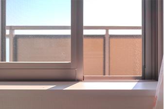 室内の定期的な換気